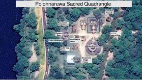 Sacred Quadrangle Vatadage Polonnaruwa Sri Lanka 44