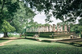 Sacred Quadrangle Vatadage Polonnaruwa Sri Lanka 45