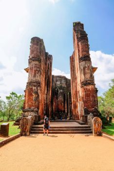 Sacred Quadrangle Vatadage Polonnaruwa Sri Lanka 55