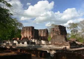 Sacred Quadrangle Vatadage Polonnaruwa Sri Lanka 60