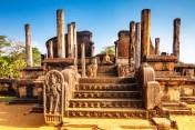 Sacred Quadrangle Vatadage Polonnaruwa Sri Lanka 61