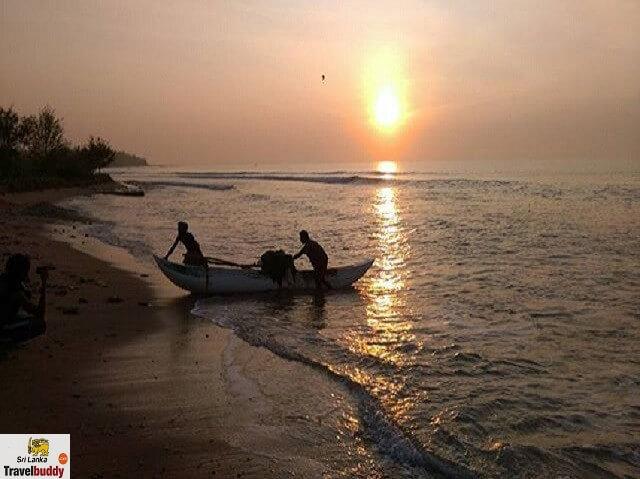 Kalkudah beach evening