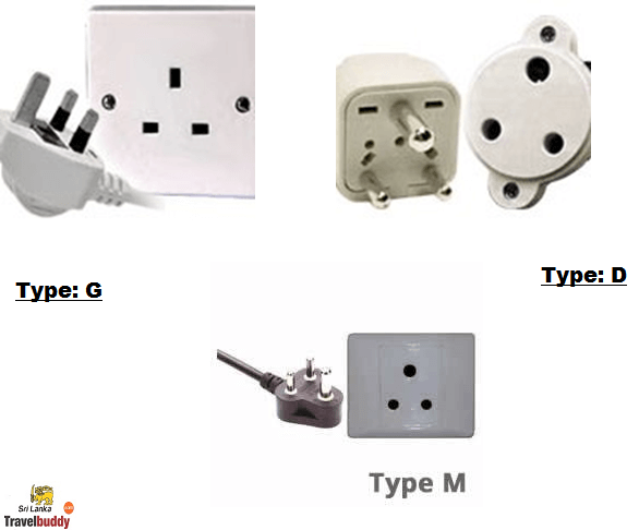 Sri lanka travel adapter
