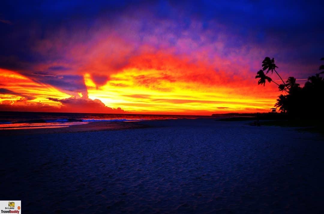 Koggala beach sunset