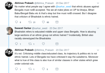 The Reviled Bengali Intellectuals – the Myths, the Distortions, and