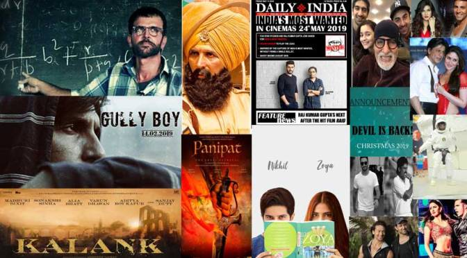 Bollywood Movies Checklist For The Year 2019!