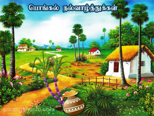 Happy pongal festival 2018 wishes images quotes sms status pongal greetings in tamil m4hsunfo