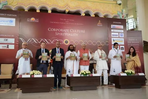 Corporate Culture & Spirituality Rishimukh Special edition launch by Sri Sri Ravi Shankar