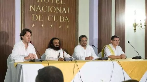 Referendum for Colombia FARC peace agreement