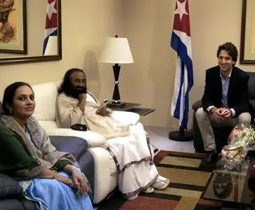 Sri Sri ​invited to signing of FARC-Colombian government peace agreement