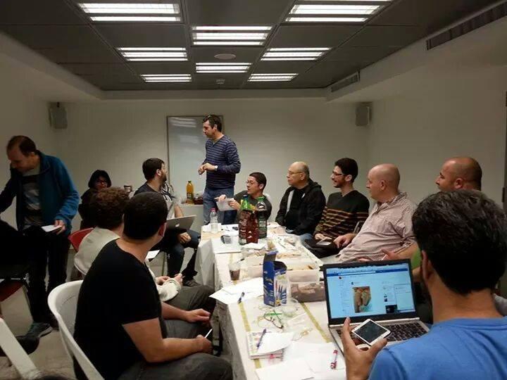 ישיבת פורום מבקרי הקולנוע בישראל 2014 (צילום: בנימין טוביאס)