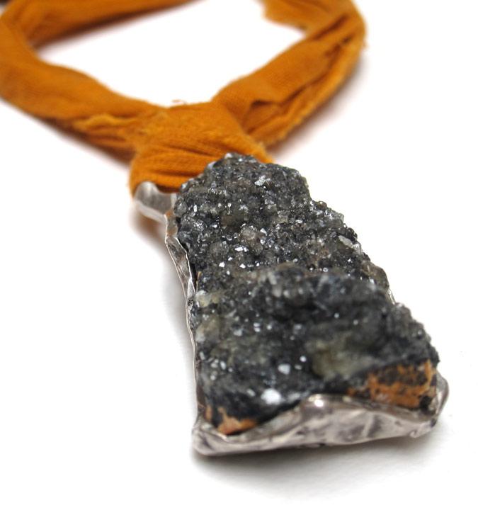 susan ritter druzy pendant