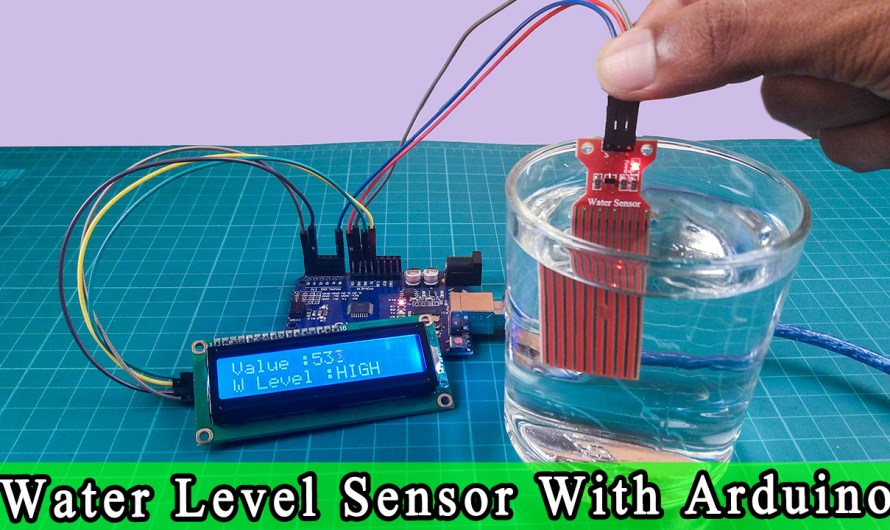 WATER LEVEL SENSOR Tutorial| How to use WATER LEVEL SENSOR