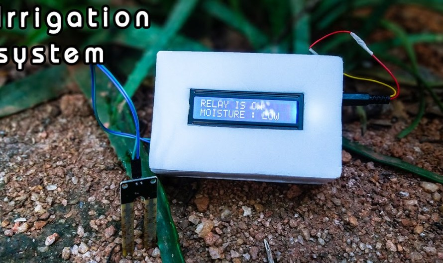 How to make an automatic irrigation and plant watering system using Arduino and soil moisture sensor | Step by step instruction