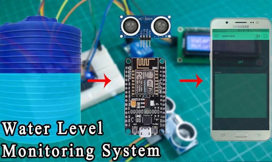 Water level indicator using Nodemcu and ultrasonic sensor – Step by step instructions