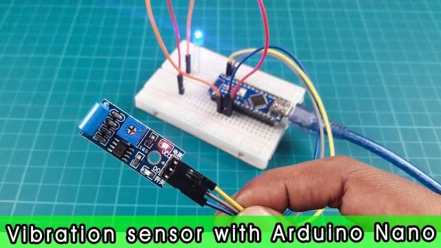 SW 420 vibration sensor with Arduino