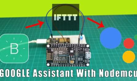 Google Assistant home automation with Nodemcu ESP8266