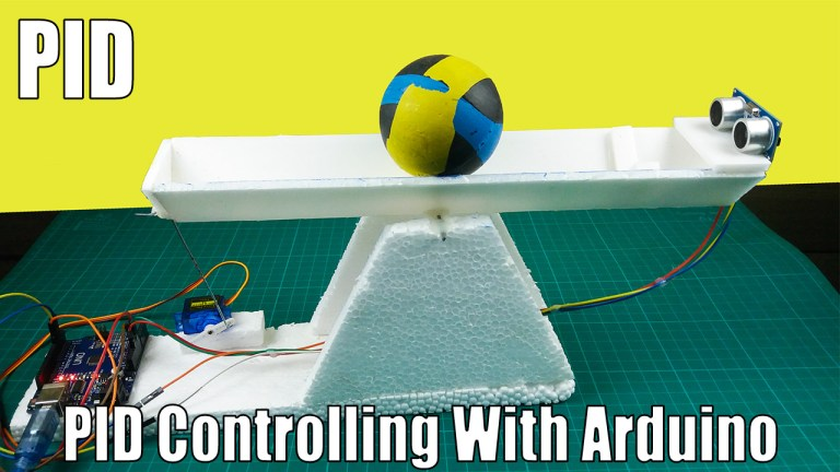 What is a PID controller and how does it work with an Arduino