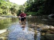 Sungai yang jernih