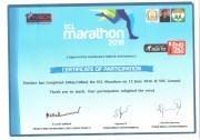Marathon Certificate :)