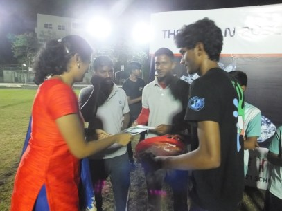 Prize Distribution...