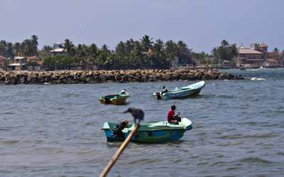 The town of Negombo