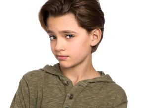 Actor Headshot of boy
