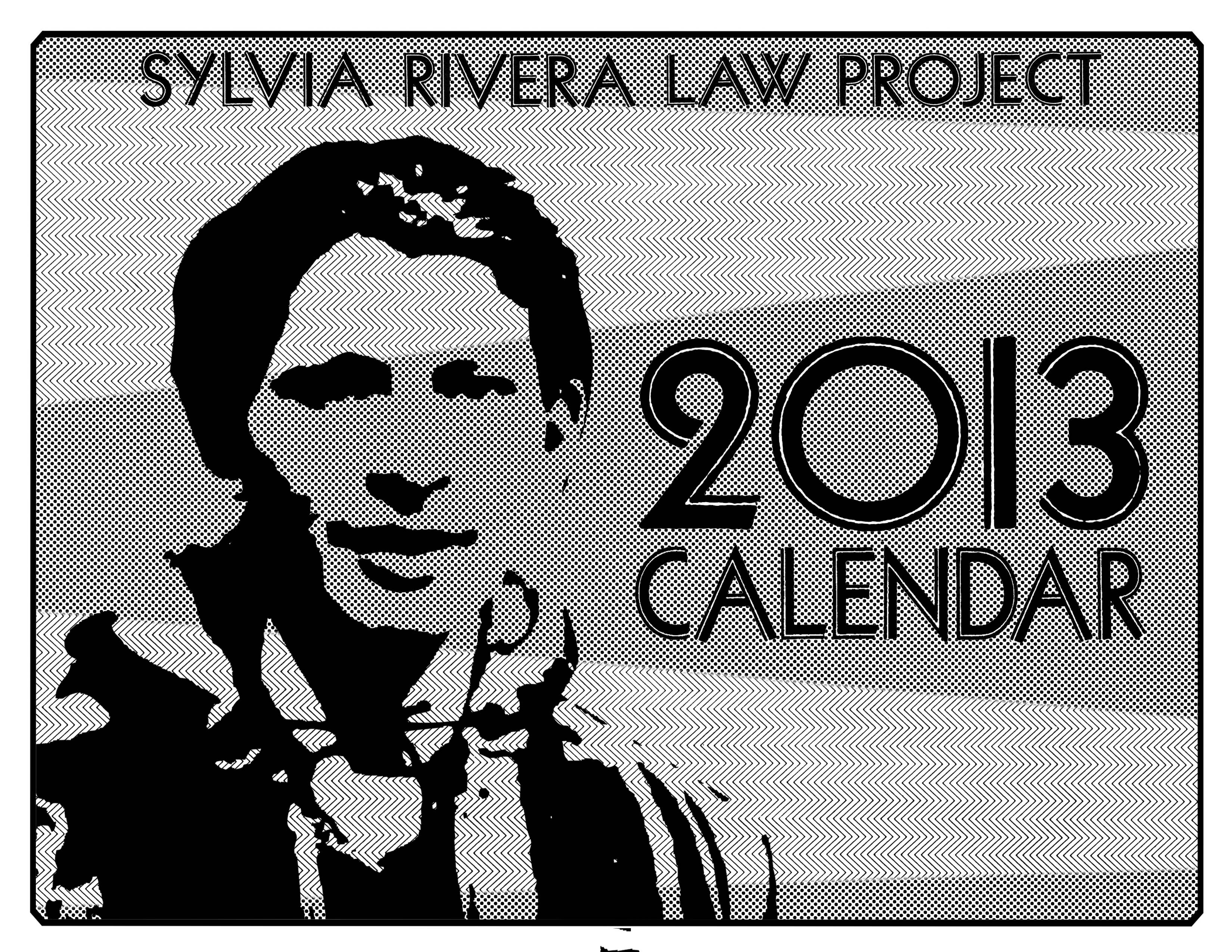 It's SRLP's first calendar, designed by artist Caroline Paquita featuring  artwork of SRLP Prisoner Advisory Committee members