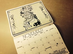 SRLP 2014 calendar, November