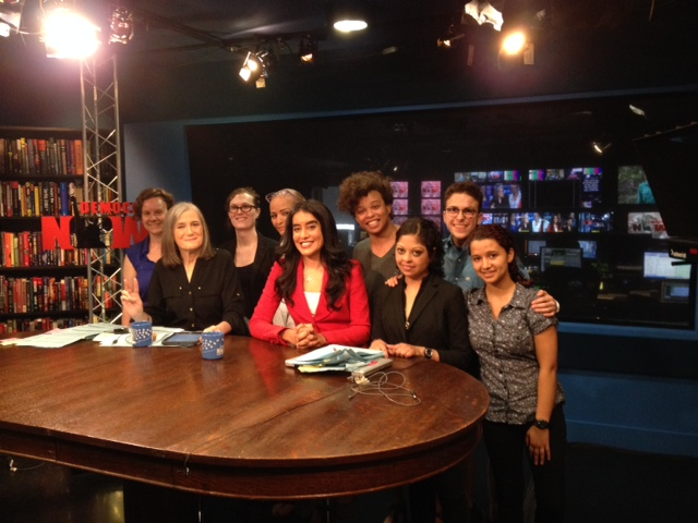 srlp at democracy now studio 6-25-14