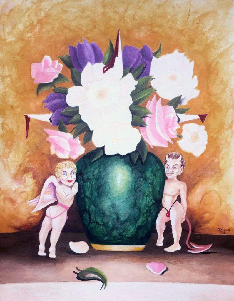 J Diaz - Even Flowers Bleed