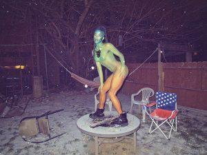 Juliana Huxtable - Nuwaub Chair