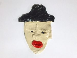 Leilah Babirye - White Man with Hat