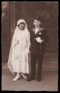 First Communion in 1910