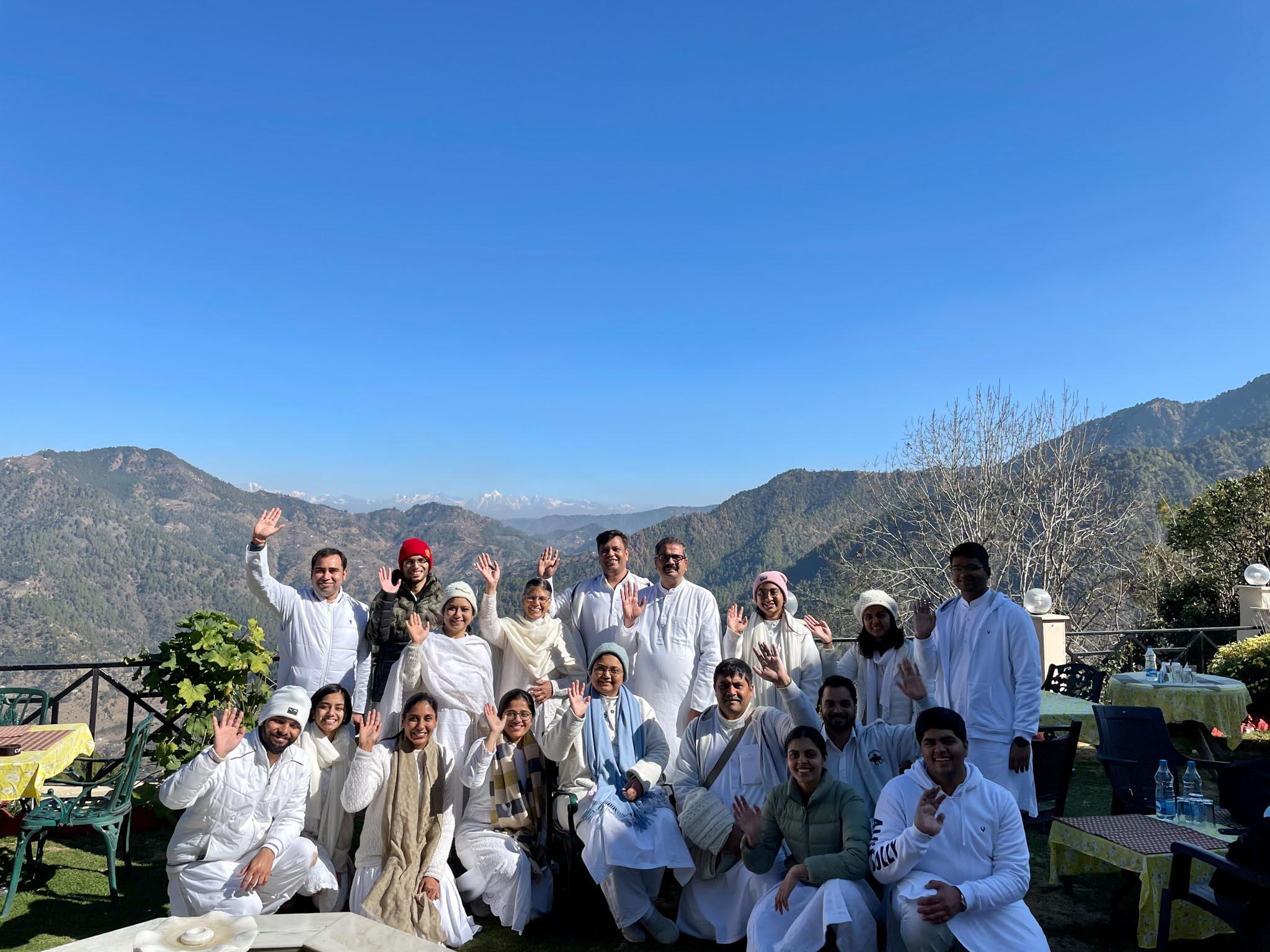 Youth with Sri Guru