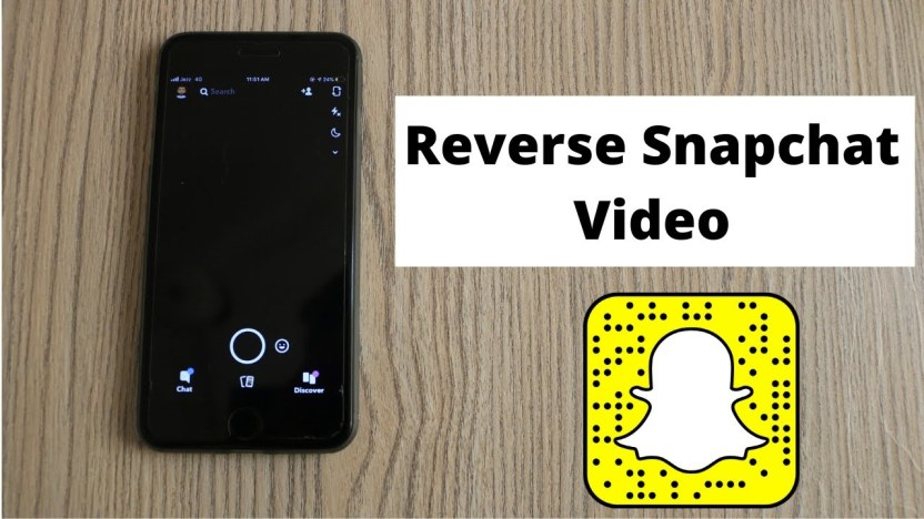 Reverse Snapchat using a Free and Built-In Filter