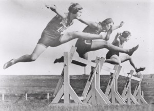 Early athletics for women