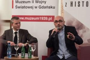"""16.11.2016 Gdańsk. Promocja książki """"W kręgu Bolesława Srockiego"""". Fot Roman Jocher/Muzeum II Wojny Światowej w Gdańsku"""