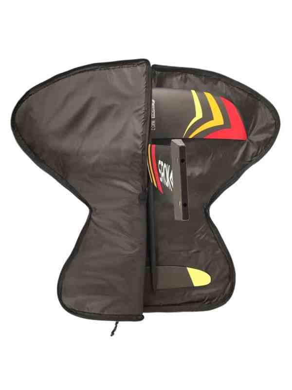 Surf foil and SUP foil protection bag for assembled foil