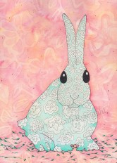Psychedelic Rabbit Copyright