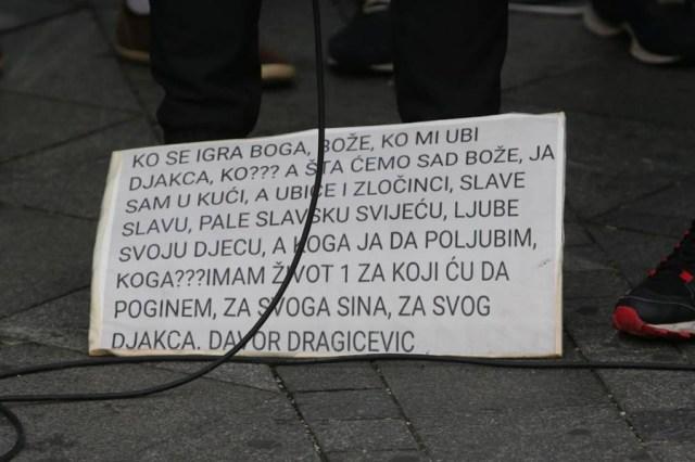 Davor Dragičević: Tužilaštvu dajem rok do ponedeljka da uhapse ubice mog sina, ako to ne urade istragu preuzima međunarodni istražni tim 2
