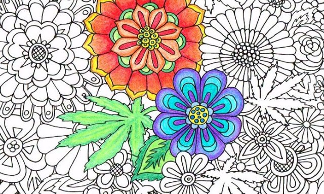 Color Me Calm Adult Coloring Group, Tuesday, February 21 @ 2 pm