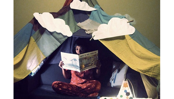 Family Blanket Fort Storytime: Tuesday, 2/28, 6-6:45pm