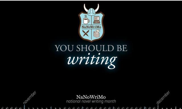 Write Your Novel @ the Library - NaNoWriMo - National Novel Writing Month - Sundays, 2 - 4 pm October 29 and November 5, 12, 19, 26