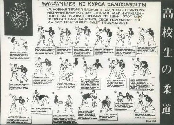 наилучшее из курса самозащиты каратэ