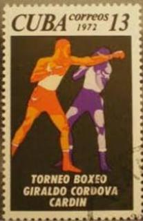 почтовая марка куба бокс