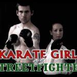 Девушка каратист против «уличного бойца»