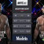Видео боя: Деррик Льюис против Илир Латифи / Derric Lewis vs Ilir Latifi — UFC 247