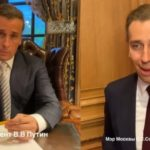 <b>Президент и Мэр.</b> Пародия Максима Галкина на Владимира Путина и Сергея Собянина