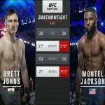 Видео боя Бретт Джонс – Монтел Джексон / UFC Fight Night 172: Фигередо — Бенавидез 2